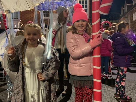 Dance School perform in the 'Christmas in Tenterden' Parade