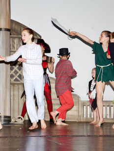 Acro and Modern Dance in our Sinden Theatre Production, Tenterden