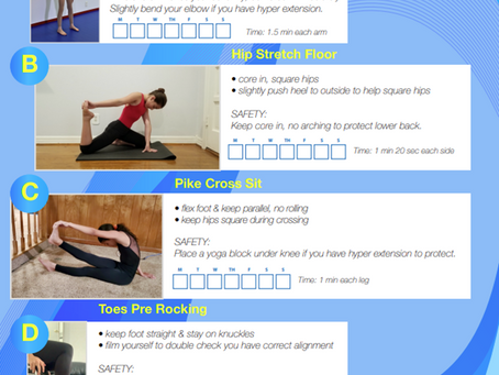 Stretching challenge - week 2