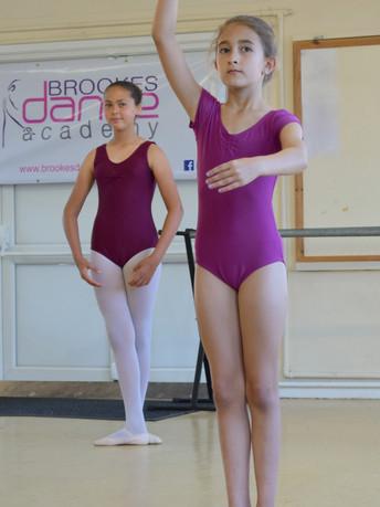 Ballet dance demonstration