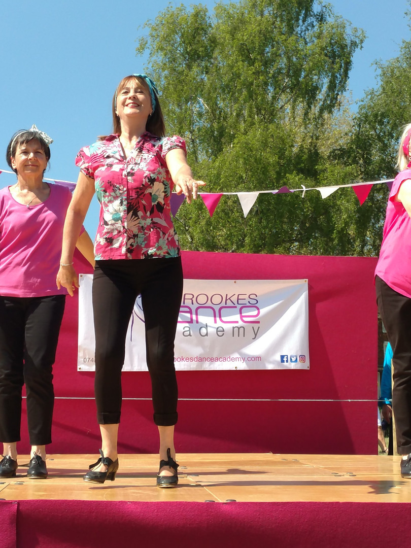 Adult Tap Dancing at Tenterden May Fayre
