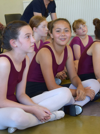 Dance School students at Brookes Dance Academy