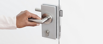 Glass Door hardware and fittings provided by Krowl