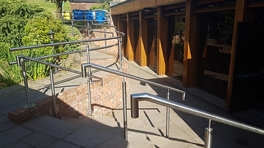Safety Handrail fitted by Krowl