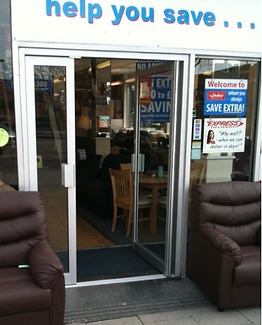 Example of Aluminium door fitted by Krowl