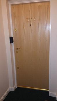 Example of a Wooden Fire Door