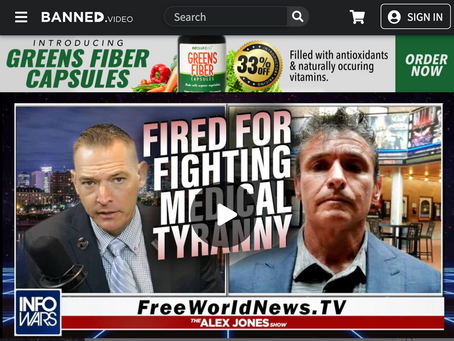 Christopher Key Fired for Fighting Medical Tyranny