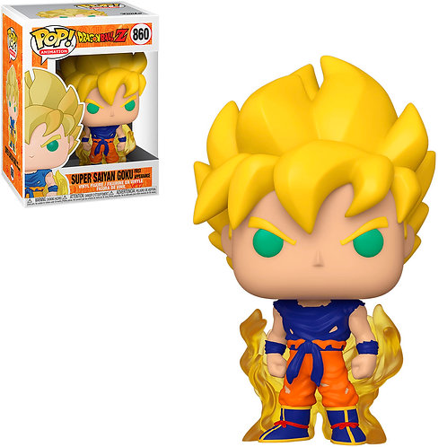 FUNKO POP DRAGON BALL Z - SUPER SAIYAN GOKU FIRST APPEARANCE 860