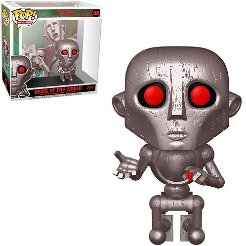 FUNKO POP ALBUMS QUEEN - NEWS OF THE WORLD 06