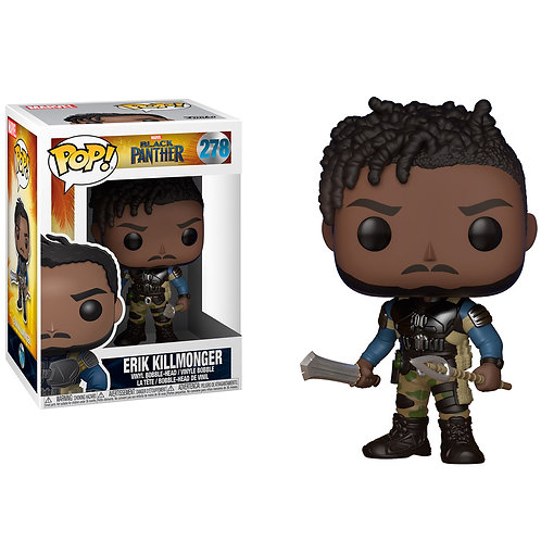 FUNKO POP MARVEL BLACK PANTHER - ERIK KILLMONGER 278