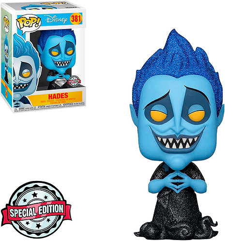 FUNKO POP DISNEY HERCULES EXCLUSIVE - HADES 381 (DIAMOND COLLECTION)