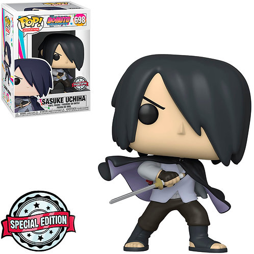 FUNKO POP BORUTO EXCLUSIVE - SASUKE UCHIHA 698