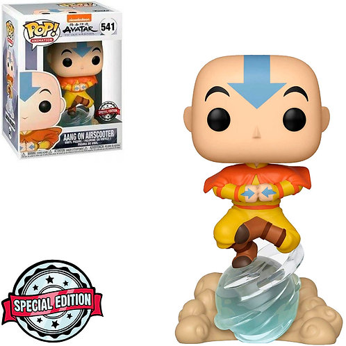 FUNKO POP ANIMATION AVATAR EXCLUSIVE - AANG ON AIRSCOOTER 541