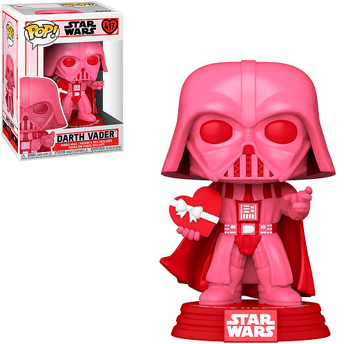 FUNKO POP STAR WARS VALENTINES - DARTH VADER 417