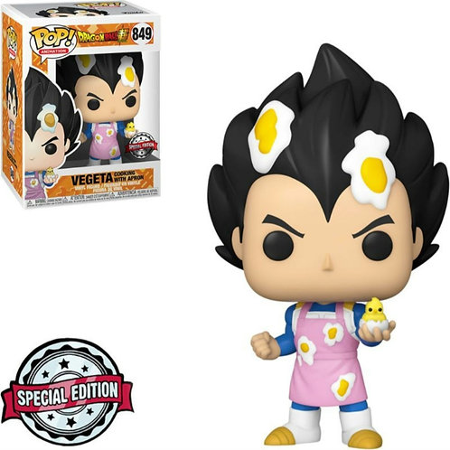POP DRAGON BALL SUPER EXCLUSIVE - VEGETA COOKING WITH APRON 849