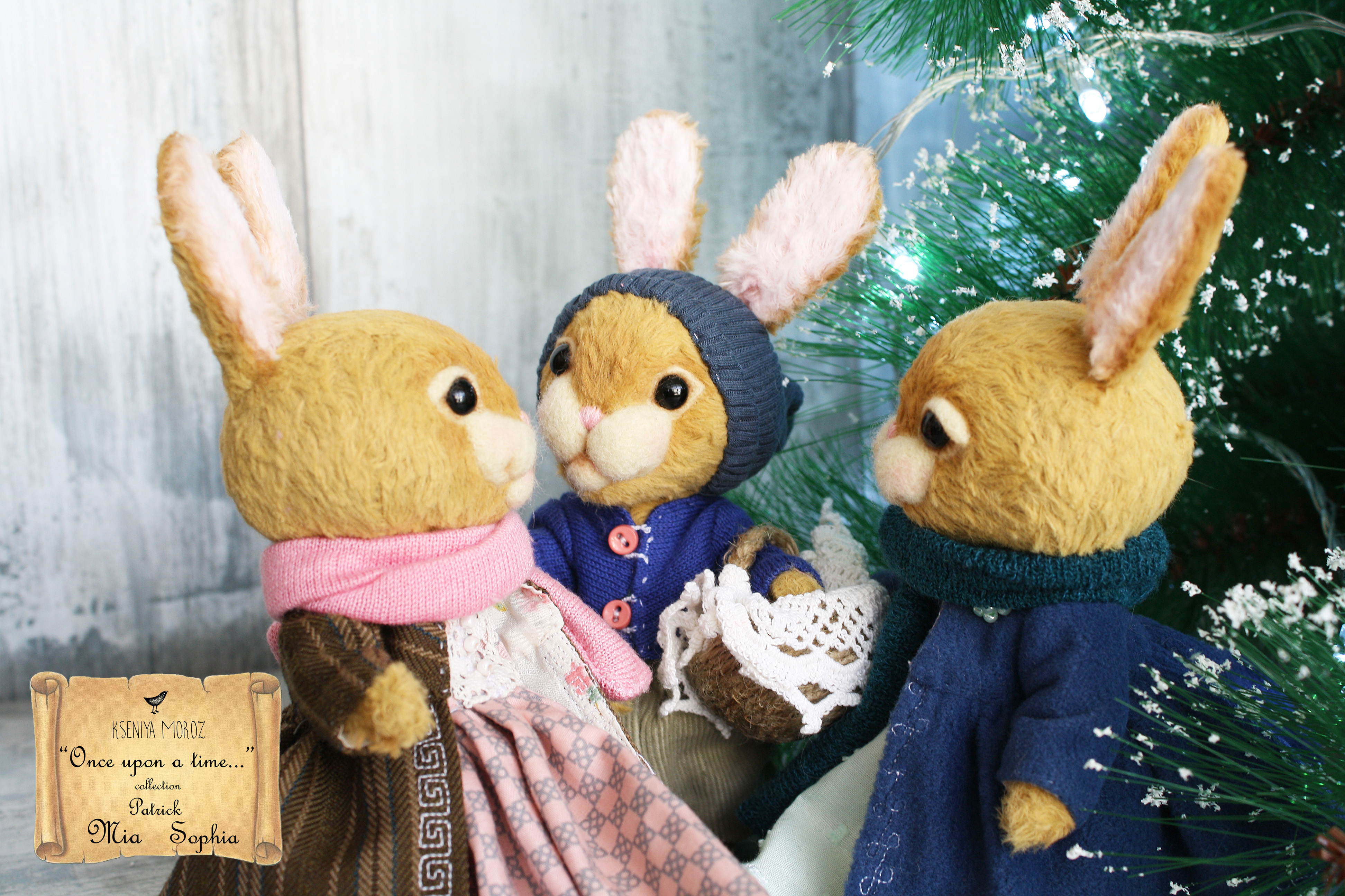 Mia, Sophia & Patrick