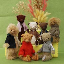 """Mans World"" Teddy Bear collection"