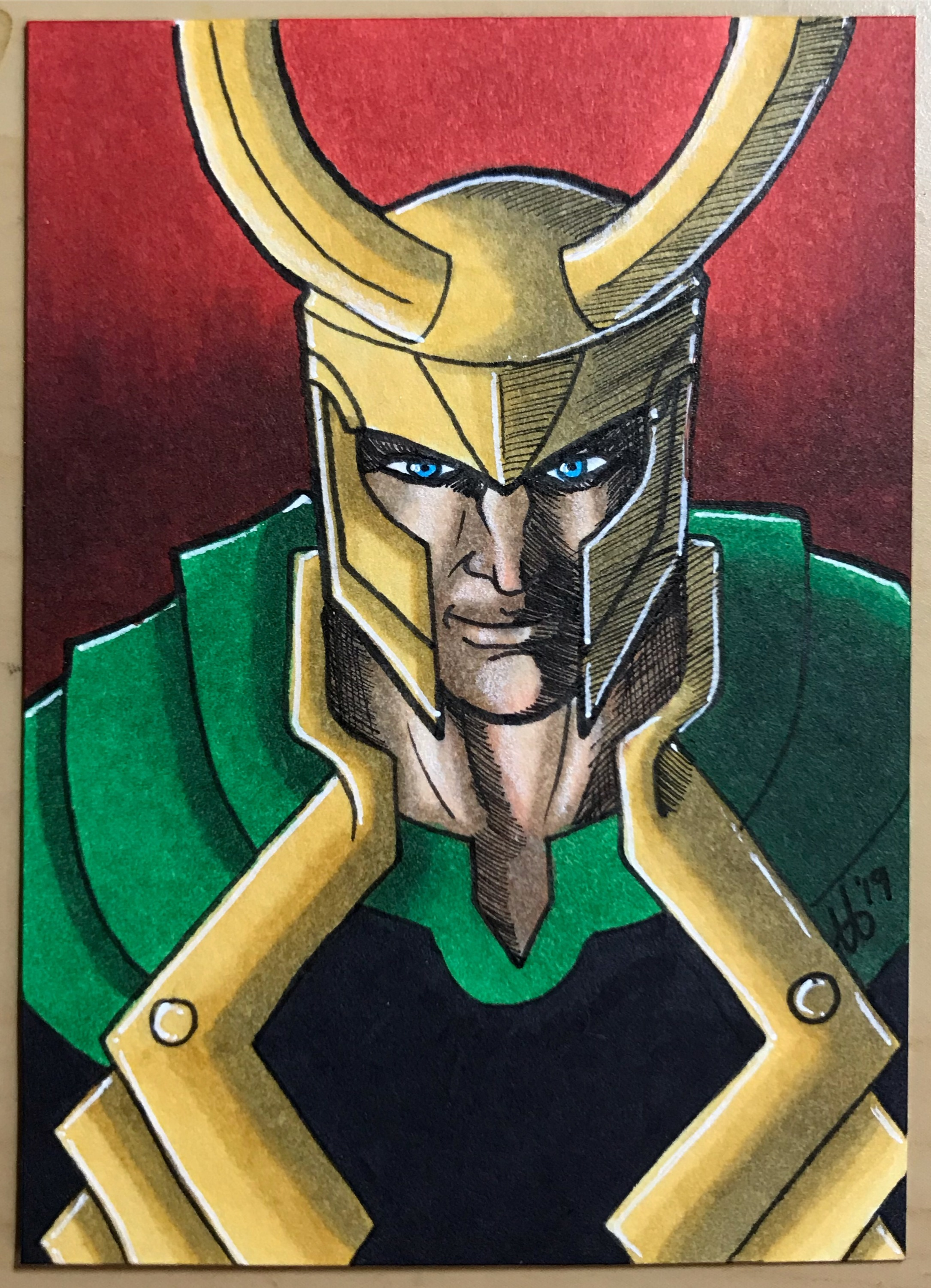 Loki - Art and color by Riley Reyer