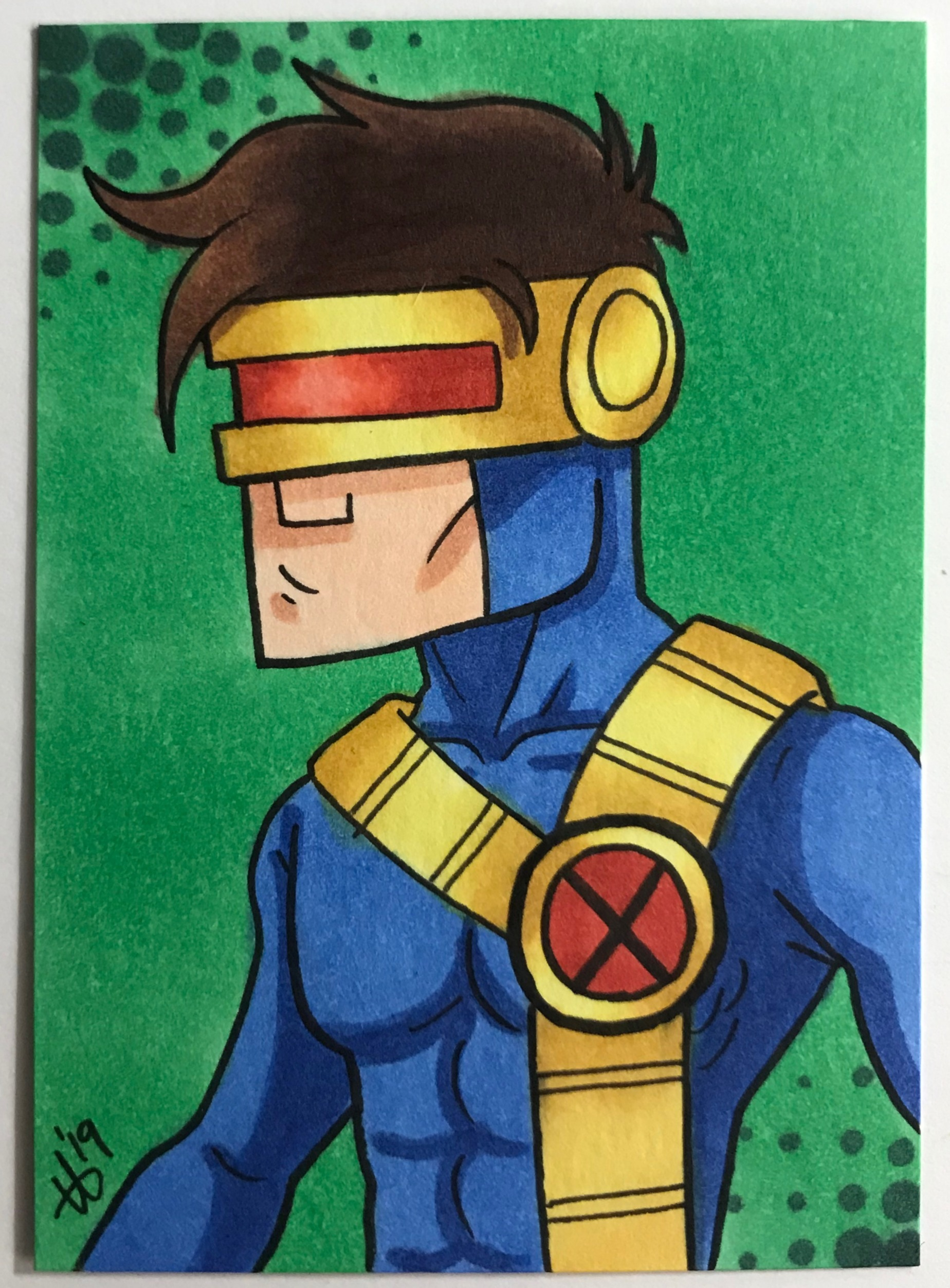 Cartoony Cyclops