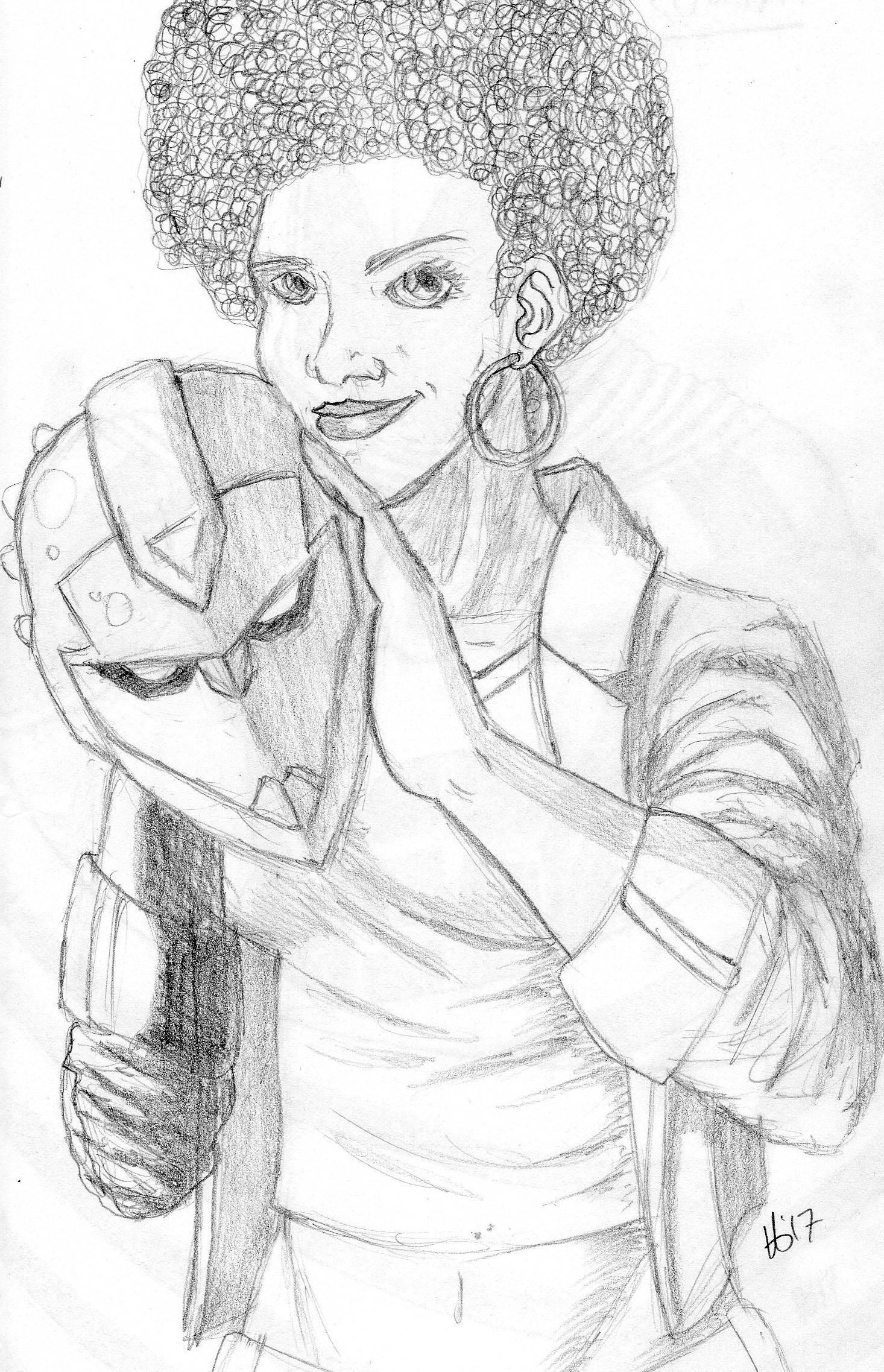 Riri Williams Pencils