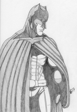 Batman Pencils 2