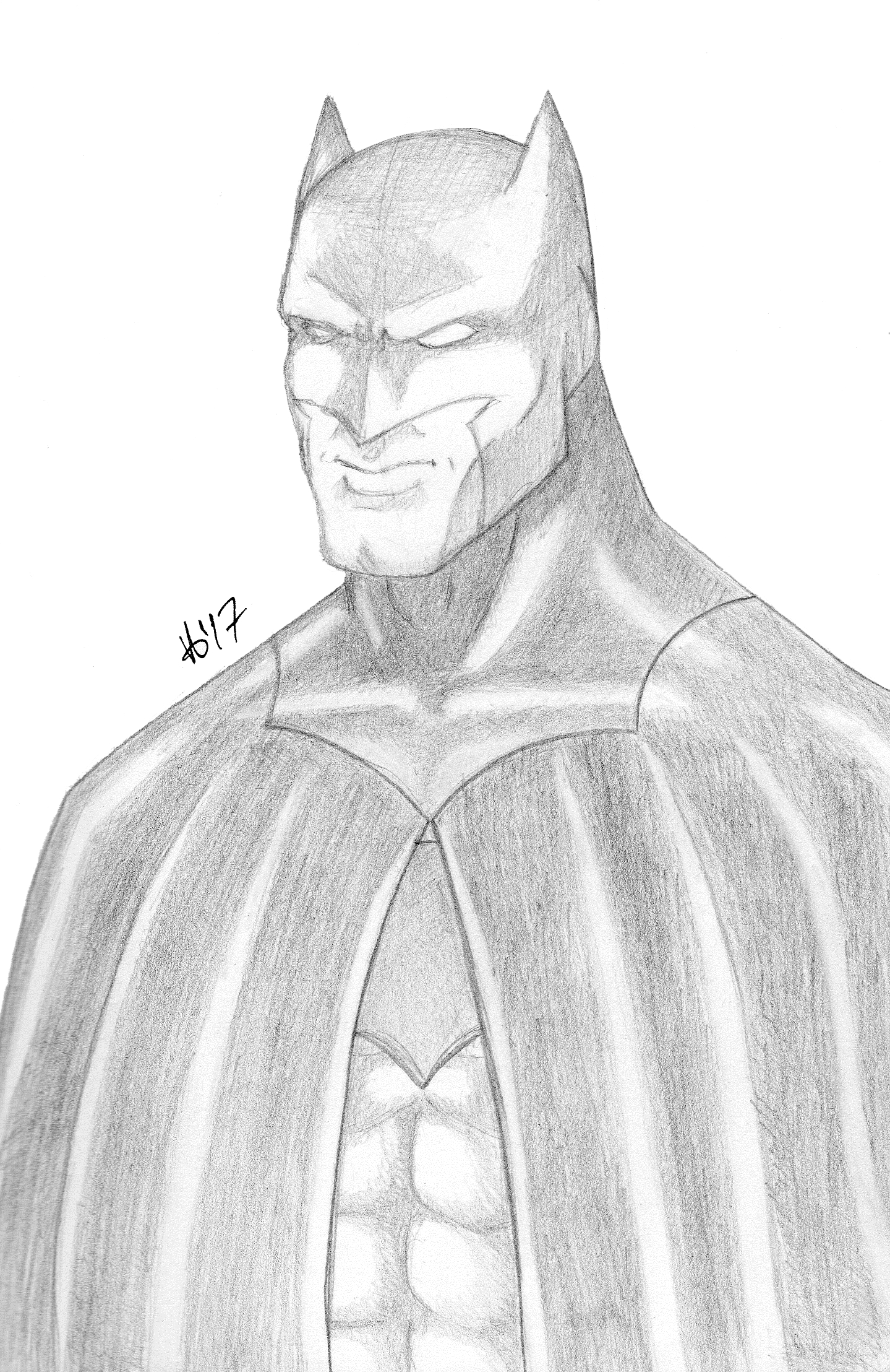 Batman Pencils