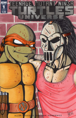 TMNT - Mikey & Casey