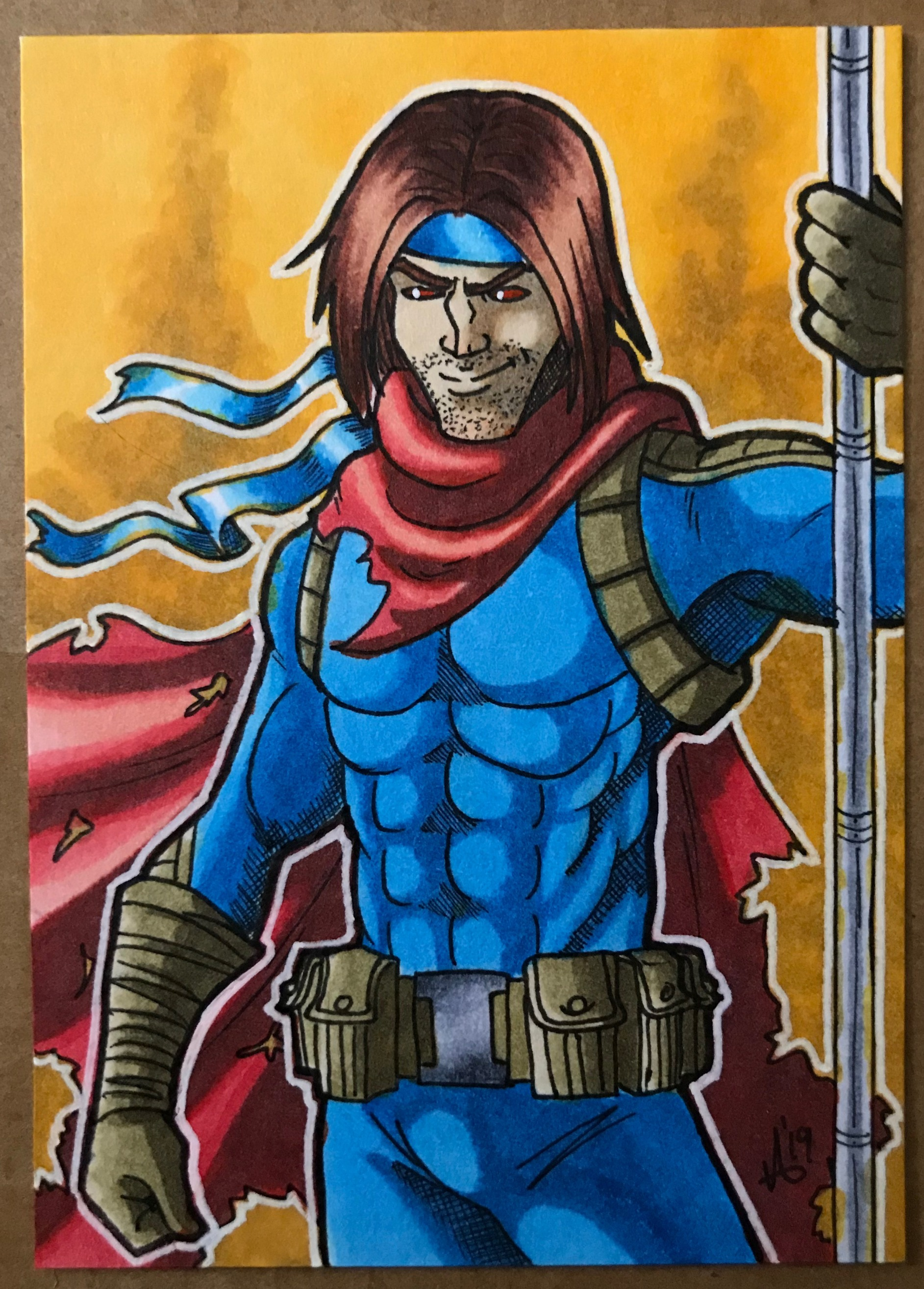 AoA Gambit - Art and color by Riley Reyer