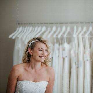 moderne Brautkleider, boho