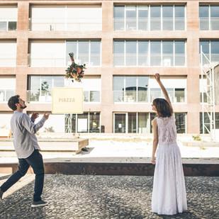 Zweiteiler für die Braut