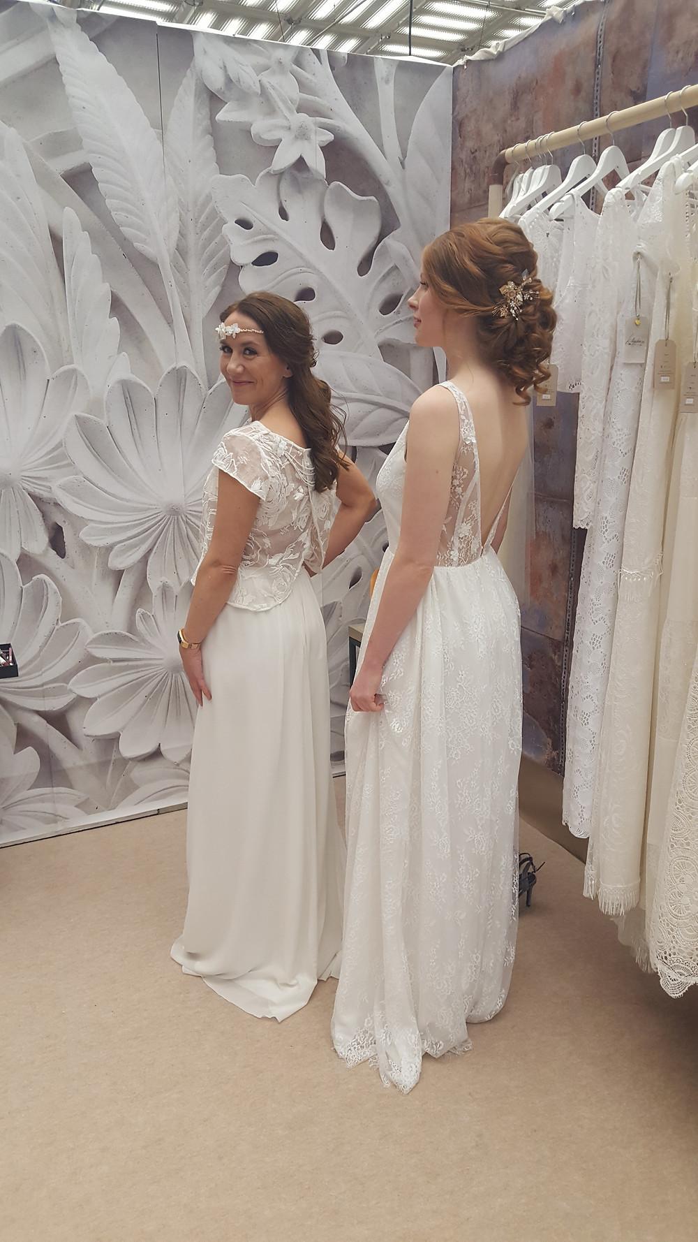 Brautkleider im Boho Look aus Mannheim