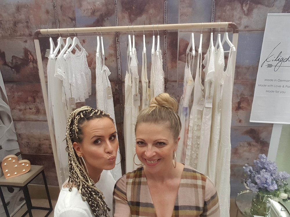 Brautstyling mit Elena