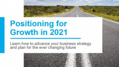 Positioning for growth in 2021