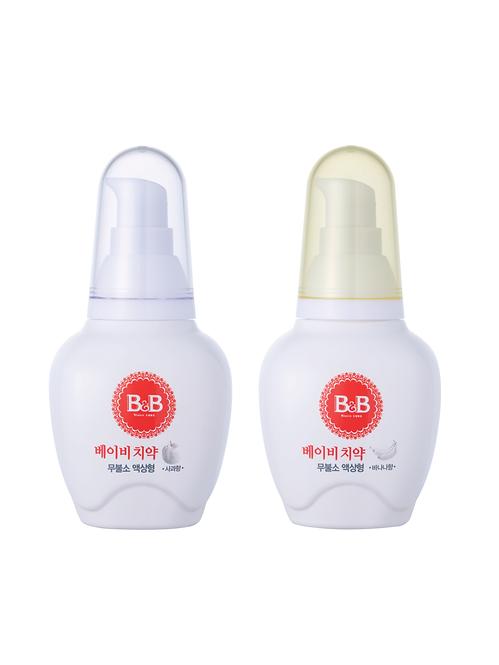 Baby Toothpaste Liquid - Apple, Banana (80g)