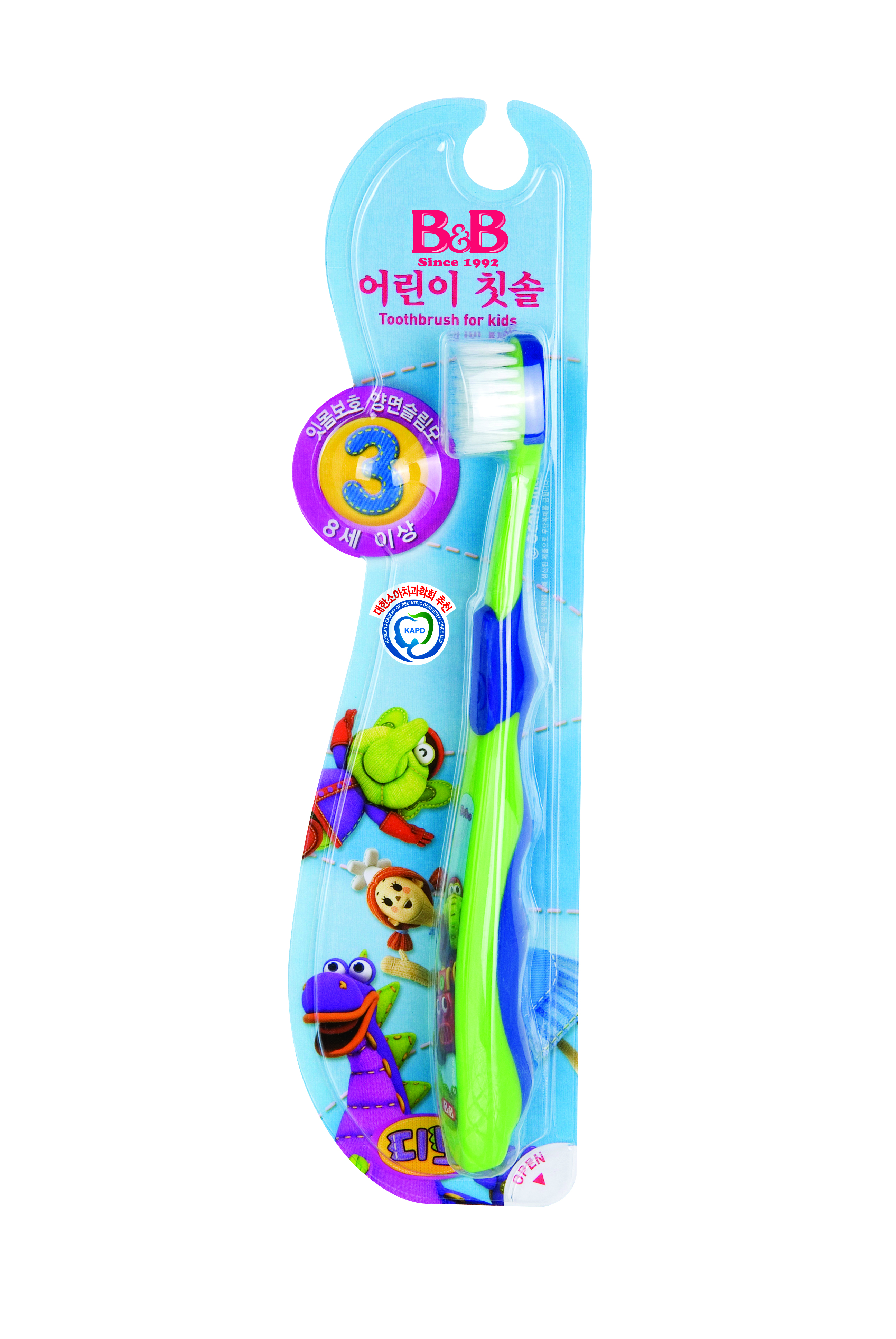 B&B Toothbrush, Kid Toothbrush