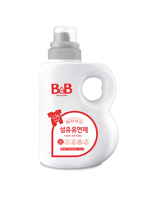 Baby Fabric Softener (Bergamot) - Bottle (1500ml)