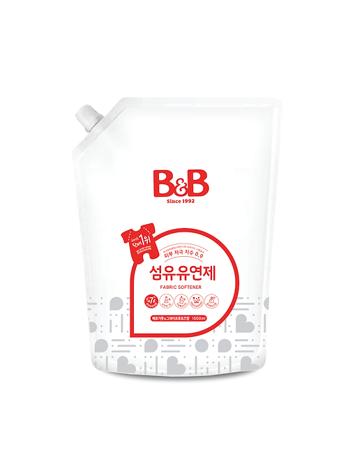 Baby Fabric Softener (Bergamot) - Refill (1500ml)