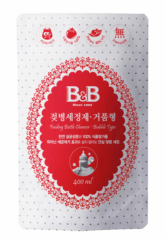 B&B Bottle Cleanser refill bubble