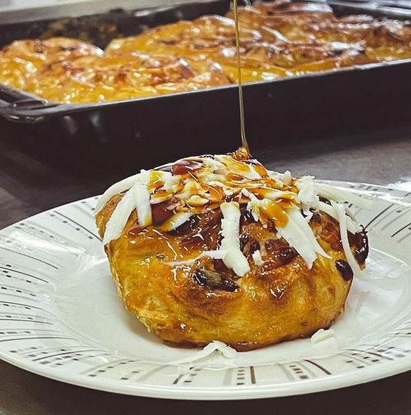 Sticky buns - Golfeados