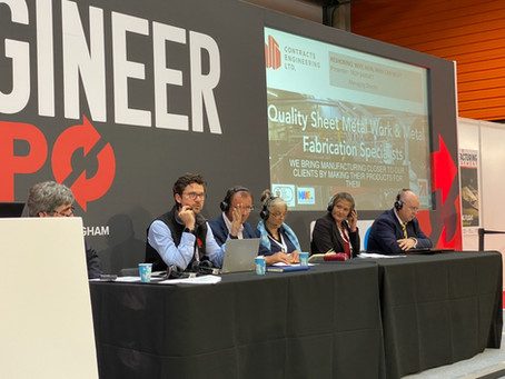 Troy Barratt joins a Reshoring panel at the 2021 National SubCon Expo in Birmingham