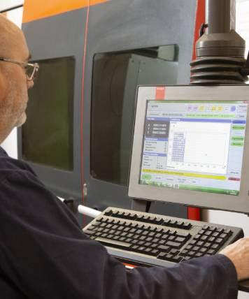 fibre optic laser cutting service image.