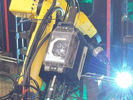Contracts Engineering Ltd works with FANUC UK and Cyberweld on its first robot welder