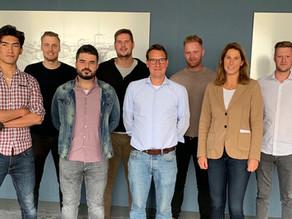 """Junge Bauleiter bei Echterhoff schließen Ausbildung """"Fit für Leadership"""" erfolgreich ab"""