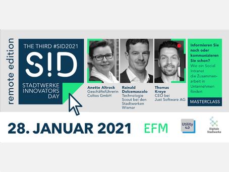 #SID2021 Social-Intranet-Projekt beim Stadtwerke Innovators Day