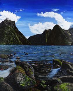 "HM Landscape ""New Zealand's Milford Sound"""