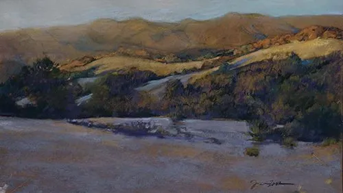 "Award of Excellence - ""Dusk in El Dorado"" by Frances Morgan"