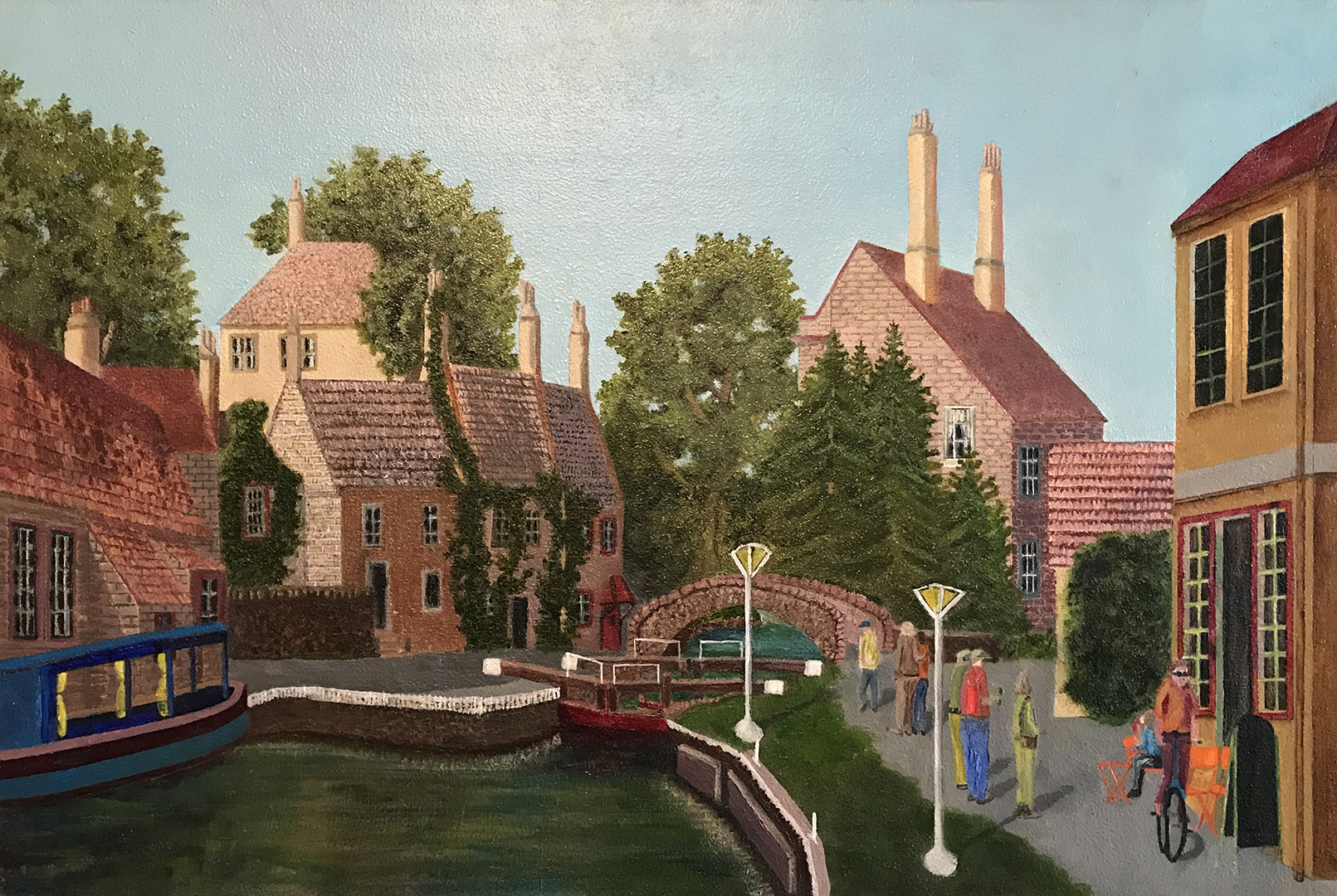 English Village on a Canal