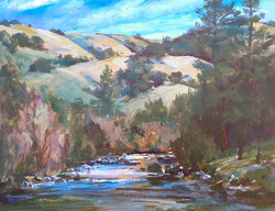 """2nd Place Landscape """"South Fork American River"""""""