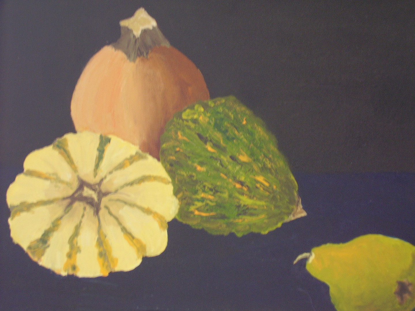 Gourds and a Pear
