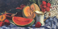 """3rd Place Still Life """"The Table Set Before Me"""""""